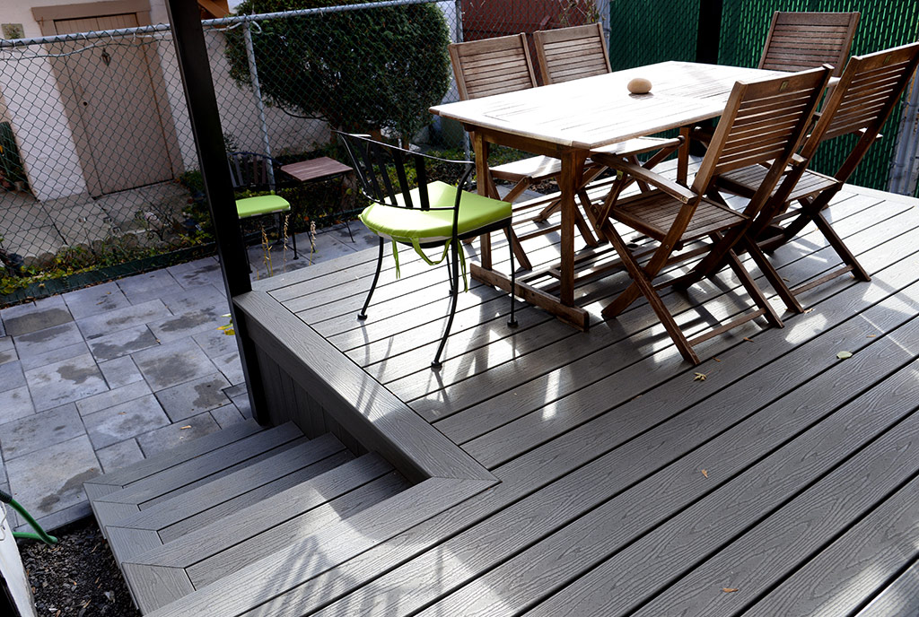 Exceptionnel ... Composite Patio Built By Urban Balcony ...