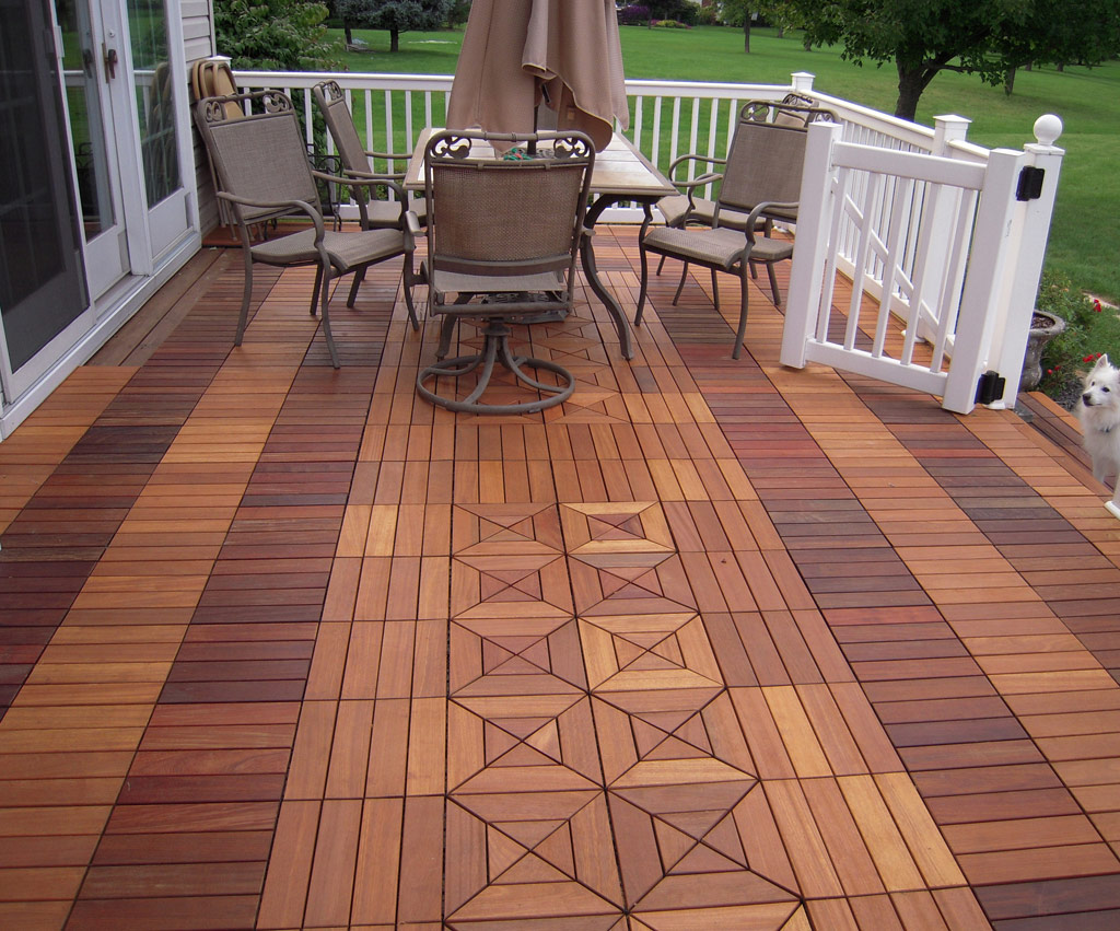 Ipe Deck Tiles Ipe Wood Outdoor Flooring Montreal